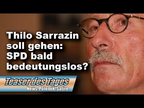 Parteiausschluss: Thilo Sarrazin will Berufung einlegen (Teaser des Tages 03.08.2020)