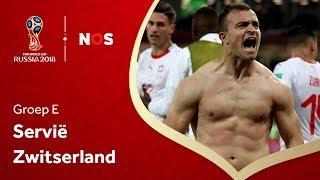 WK voetbal 2018: Samenvatting Servië - Zwitserland (1-2)