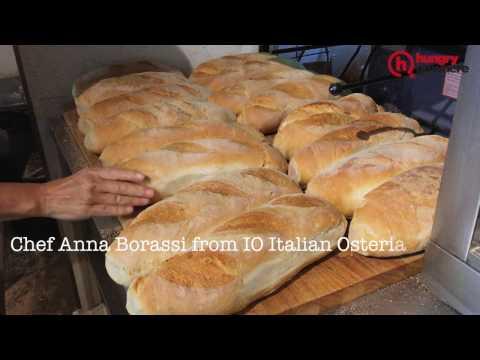How to bake pane bianco (Italian white bread)