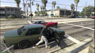 Grand Theft Auto V Gameplay - GTX 560 Q6600 6GB PC HD