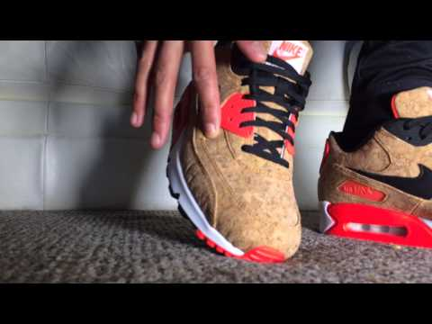 699f5d13f3f ON-FOOT) Air Max 90 // Cork // The most annoying shoe of 2015 - YouTube