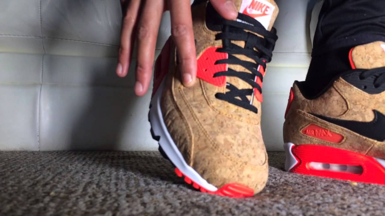 ce73c5ef11b664 ON-FOOT) Air Max 90    Cork    The most annoying shoe of 2015 - YouTube