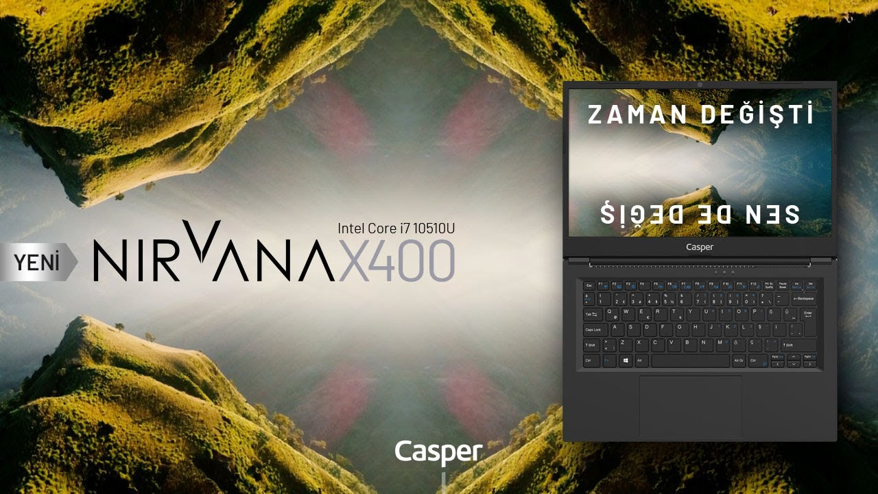 Nirvana X400 - Sen de Değiş | Casper