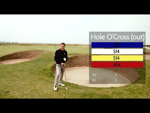 How to Play the Old Course with Steve North - Hole 5 - Hole O'Cross (out)
