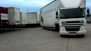 Reversing an articulated vehicle. Marie D Mellor sub-contractor for John Bullock,