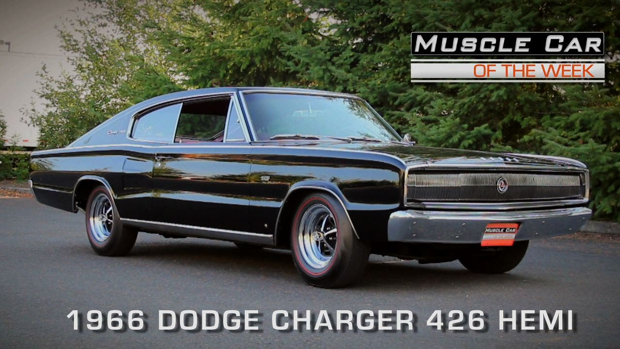 Muscle car of the week video episode 116 1966 dodge charger 426 hemi youtube