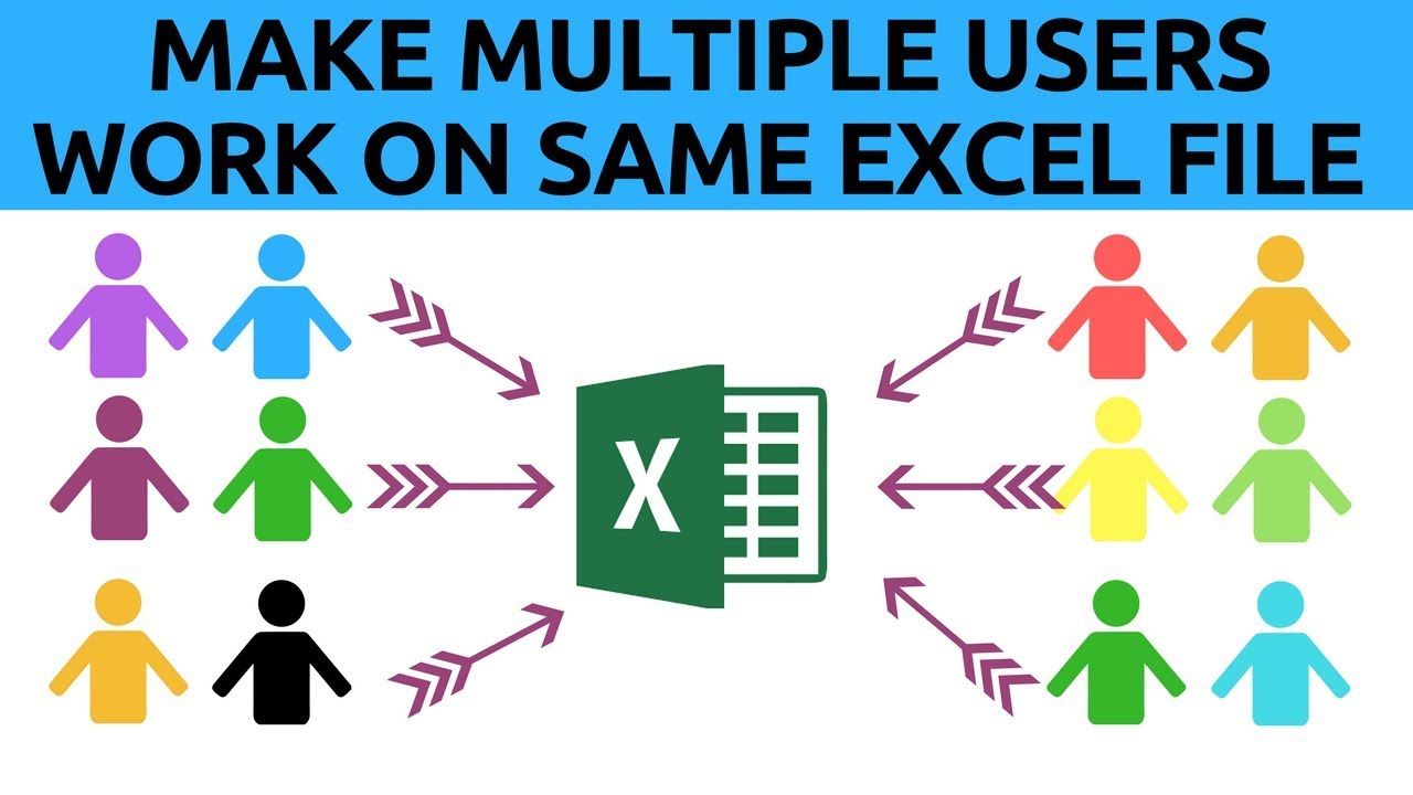 Let Multiple Users Work on Same Excel File At The Same Time