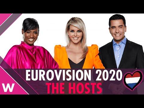Eurovision 2020 hosts (REACTION) 🇳🇱