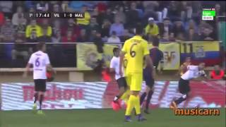 Video Gol Pertandingan Villarreal vs Malaga