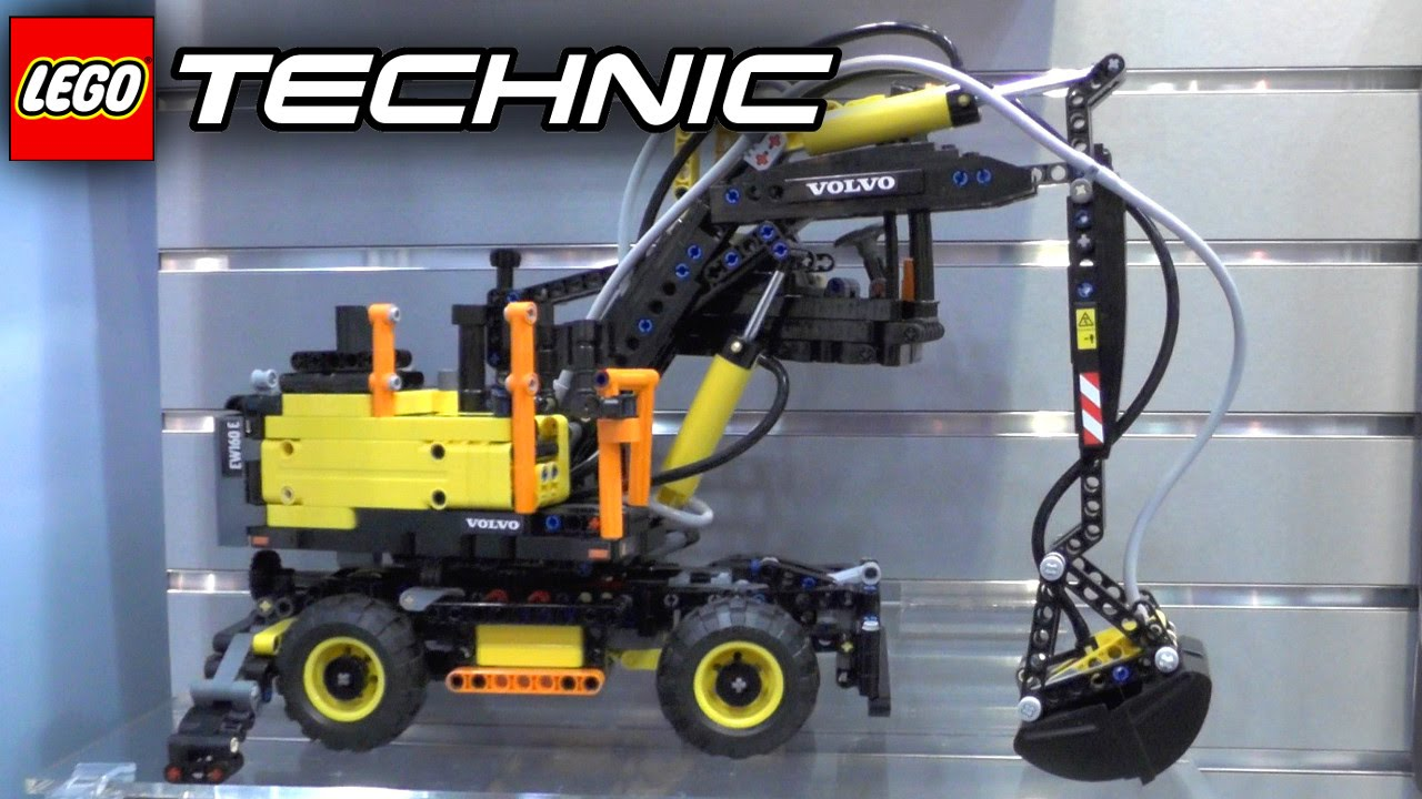 Technics Wiring Diagram Lego Technic 2016 Tour W 422053 Volvo Ew160e L30g Youtube