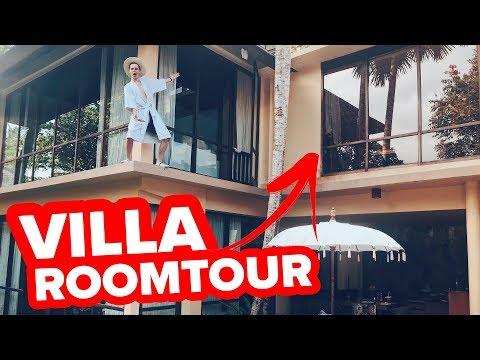Unsere KRASSE VILLA auf Bali 😍 - Roomtour || Flowest