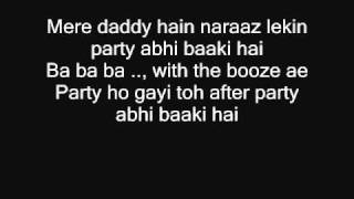 Char Baj Gaye (Lyrics) Movie: F.A.L.T.U