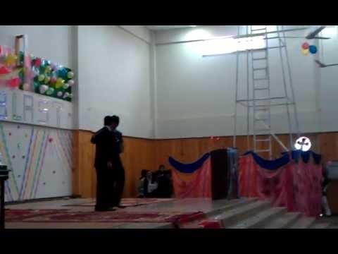 Hazara university IT department party 2012(welcome skit)