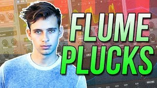 FLUME FUTURE BASS PLUCK SERUM TUTORIAL