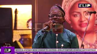 KENNY BLAQ TAKES MUSIC COMEDY TO ANOTHER LEVEL  TEMITOPE AYORINDES 40TH BIRTHDAY