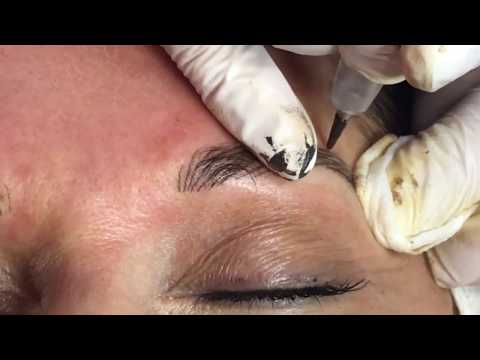 The Process of Permanent Eyebrow Tattoo
