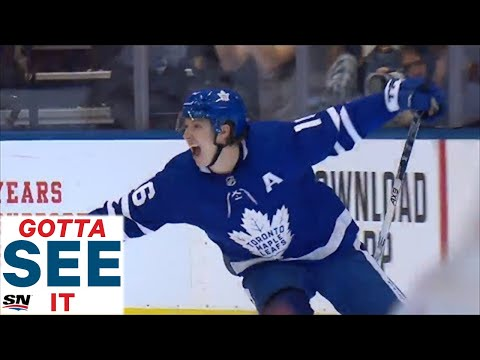 GOTTA SEE IT: Maple Leafs Ignite The Home Crowd With Three Goals In Under A Minute