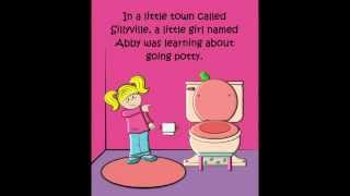 POTTY BOOK & E-BOOK: THE SILLY POTTY STORY (for girls)