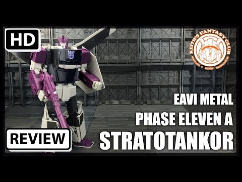 Keiths Fantasy Club EAVI Metal STRATOTANKER Transformers Masterpiece Octane