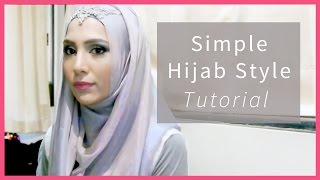 One of Amena's most viewed videos: EASY HIJAB TUTORIAL IN 3 STEPS! FOR SCHOOL, WORK, FORMAL... | Amena