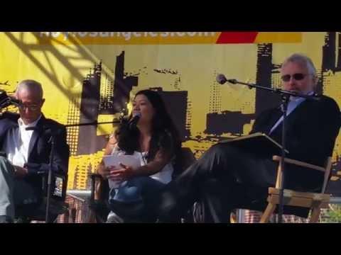 Panel (1) Sobre realidad mexicana c/ Ruben Luengas, Miguel Tinker Salas, Reyna Grande y Eileen Truax