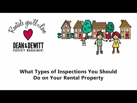 What Types Of Inspections Should You Do On Your Rental Property Property Management St P