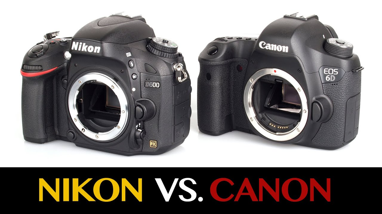Nikon vs Canon DSLR Cameras - YouTube