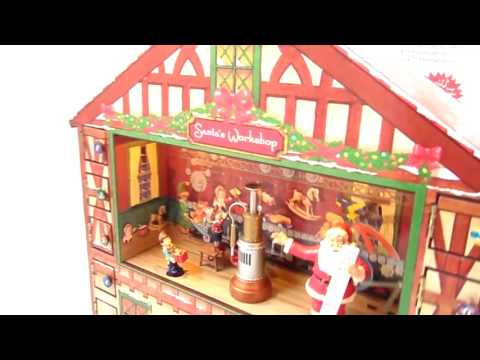 mr  christmas animated lighted advent house