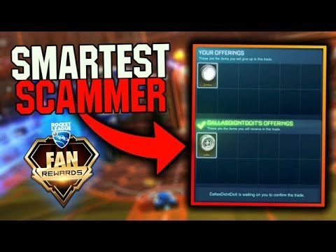 63840bb29e9 *SMARTEST SCAMMER* ON ROCKET LEAGUE TRIES TO STEAL MY WHOLE INVENTORY!!  (New Scam)