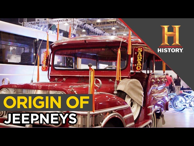 Origin of Jeepneys Revealed | History Con