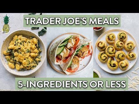 5-Ingredient or Less Trader Joe's Recipe Ideas! (Vegan)