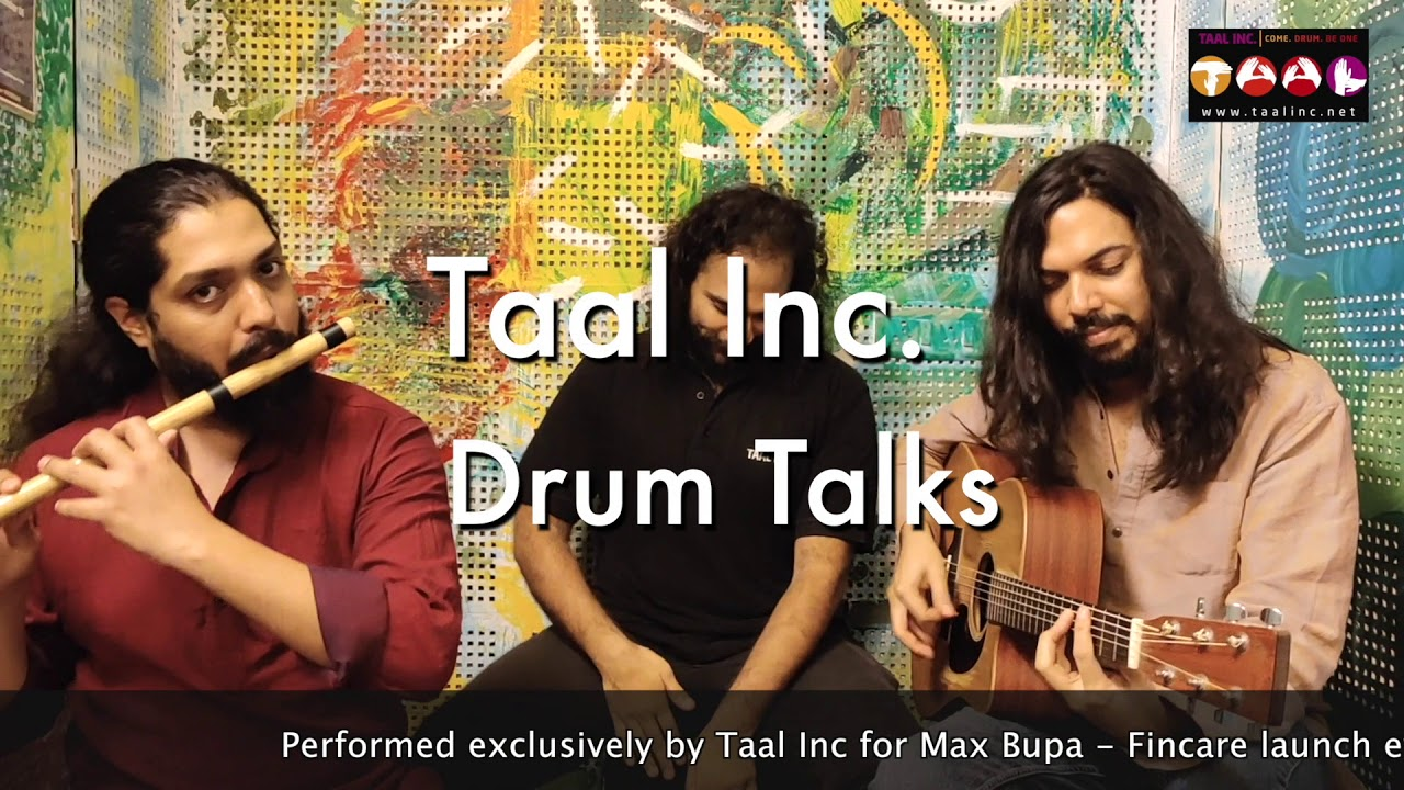 Taal Inc. Drum Talks | Corporate Training | Junk Percussion Jam | Online Group Drumming |