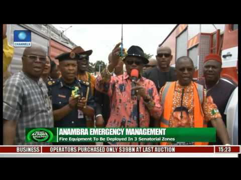 Anambra Govt Procures Fire Trucks,Ambulances To Tackle Disasters