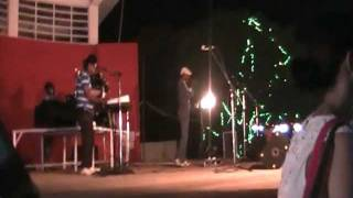 Arpora night market Goa India Rock music and shopping