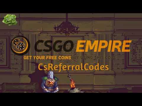 $ CSGO EMPIRE || Referral code || FREE Coins $