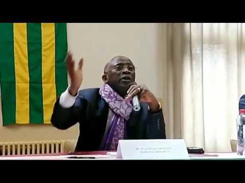TOGO: Belgique Me APEVON  de la C14, rencontre la Diaspora Togolaise 1ère Partie