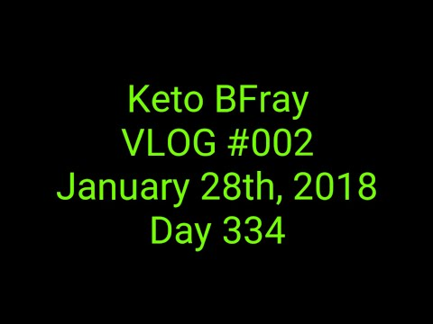 Keto BFray VLOG #002 | Full day of eating with introduction to channel