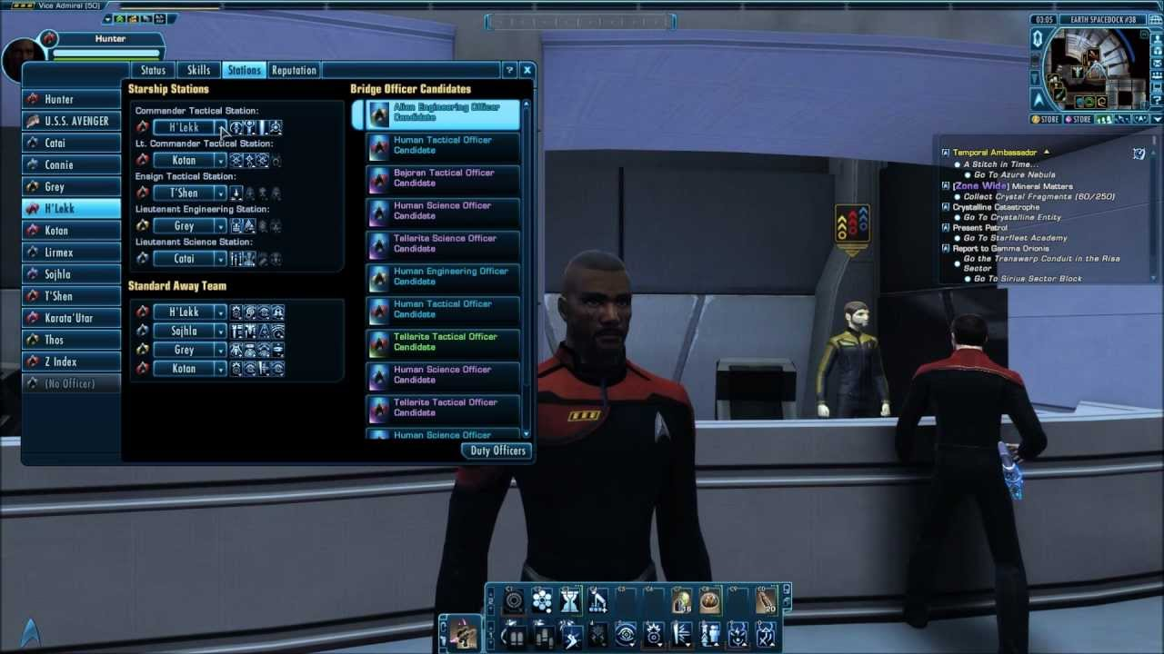 Sto buy bridge officer slots