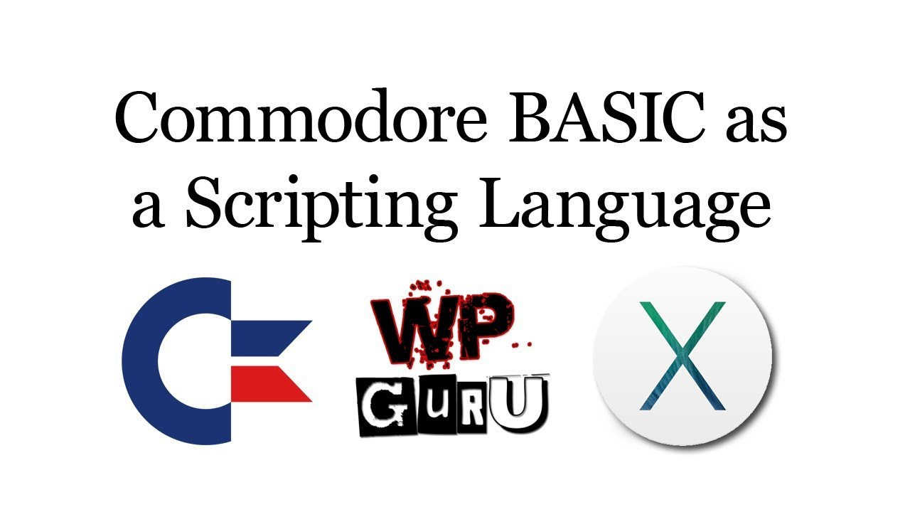 How to run Commodore BASIC as a Scripting Language on macOS | WP Hosting