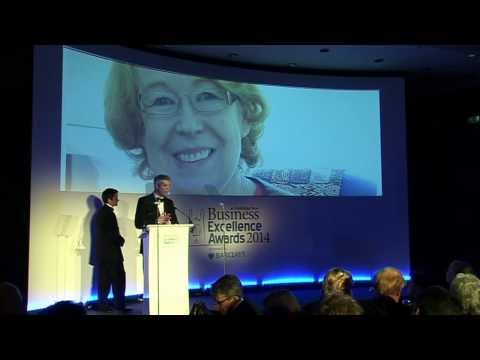 Cambridge News Business Awards in King's College Great Hall filmed by Keith Heppell