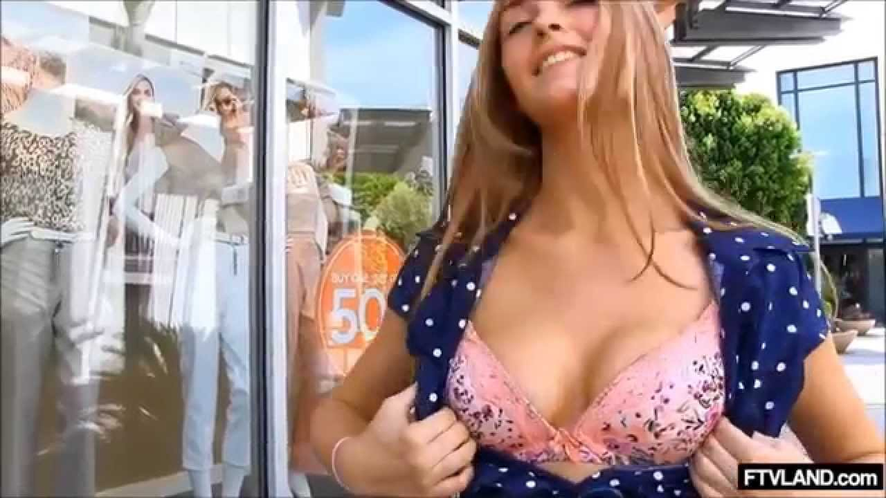 Cute College Girl Is On A Flashing Spree - Youtube-1857
