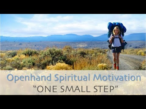 Spiritual Motivation - One Small Step
