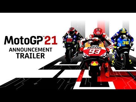 MotoGP 21 Announcement Trailer