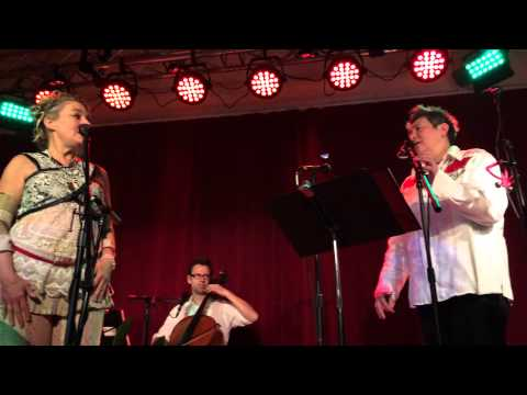 Jane Siberry and Kd Lang sing calling all angels at secret society in portland