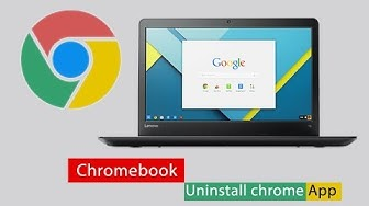 Chrome app: how to uninstall chrome application from chromebook