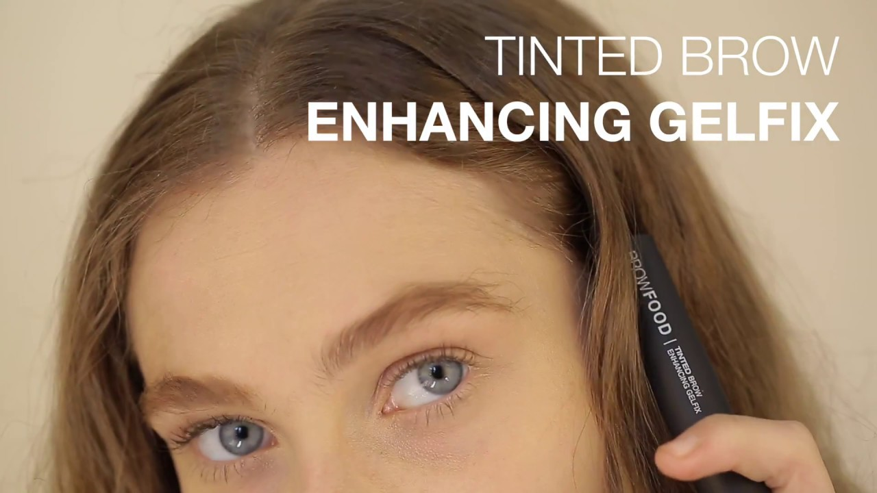 How To Tinted Brow Enhancing Gelfix With Elizabeth Youtube