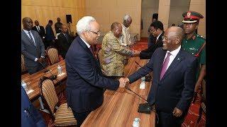 JPM Azungumza na Viongozi Wastaafu, Lowassa, Mkapa, Sumaye Ndani