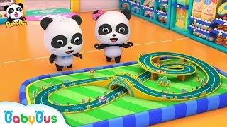 タマゴの中からおもちゃが出てくるよ!パトカーのおもちゃで遊ぼう!| 赤ちゃんが喜ぶアニメ | 動画 | BabyBus