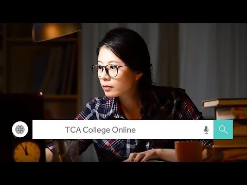 Join TCA College Online - Your Time Your Space Your Pace