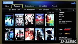 How to watch VUDU on MovieNite (DSM-310)